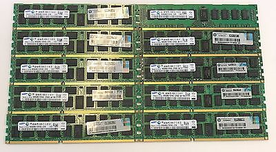 Samsung 40GB(10x4GB) DDR3 PC3 (8500-16000) Desktop Memory RAM