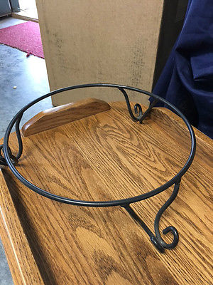 Longaberger Wrought Iron Pedestal Stand for Large Pasta Bowl !!