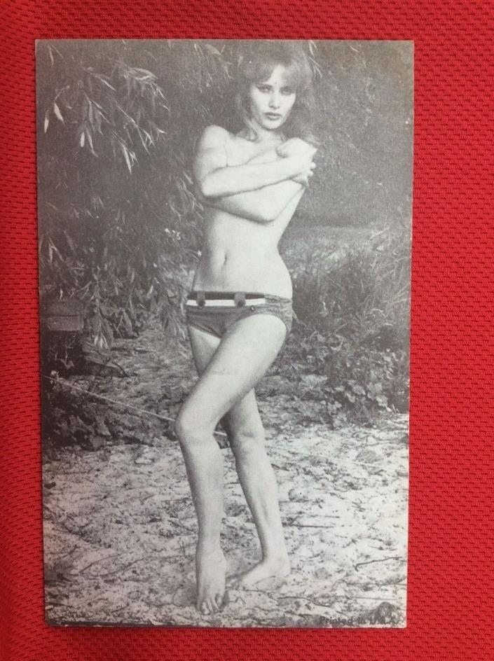 X15 1940's Risqué Nudy Woman Topless with Shorts on post Card  Postcard