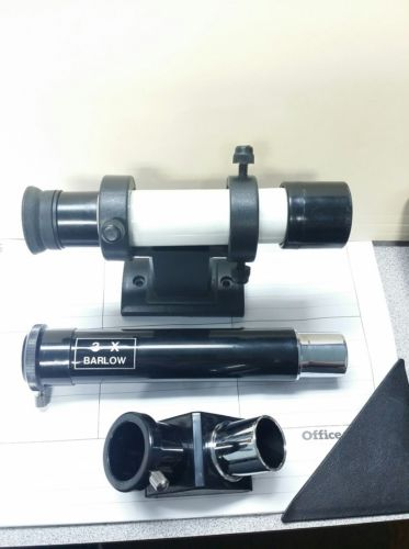 .965 90 degree Diagonal, 3X Barlow, 5x24 Finderscope with Base