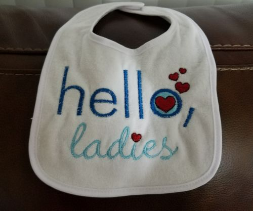 Custom Embroidered Baby Bib