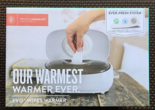 Prince LionHeart Evo Wipes Warmer Ever Fresh System New In Box Sealed NIB Baby