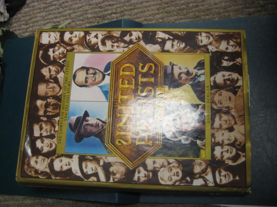 The United Artists Story by Ronald Bergan (1986) HARDCOVER/DJ 1ST US EDITION