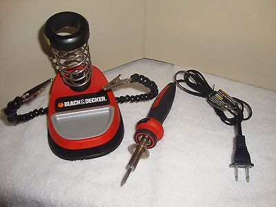 Black and Decker SOLDERING IRON 25 WATT 7 Tips and Base KIT