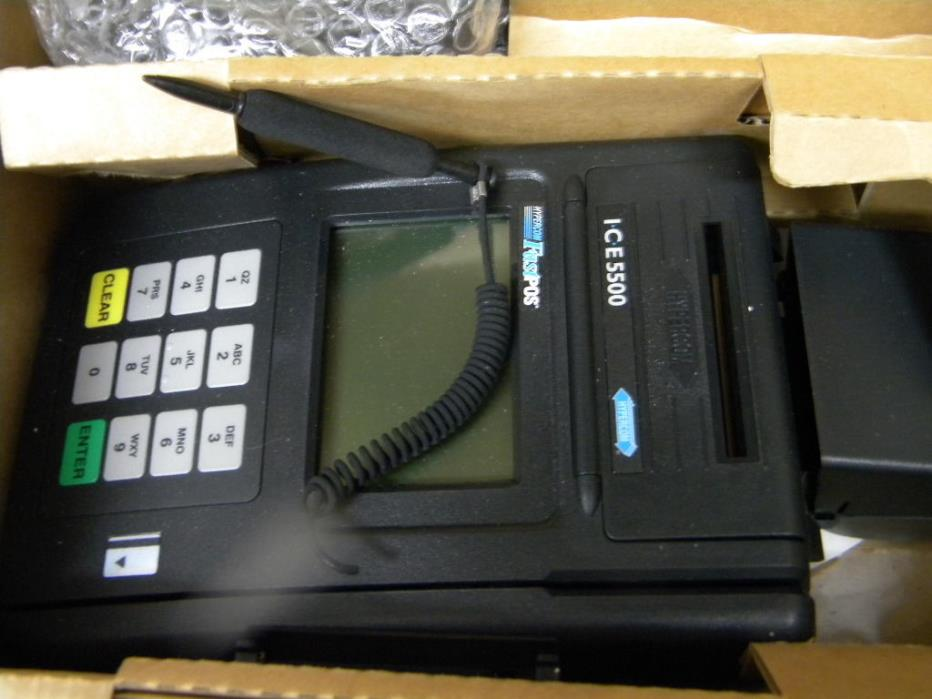 Ice 5500 credit card terminal