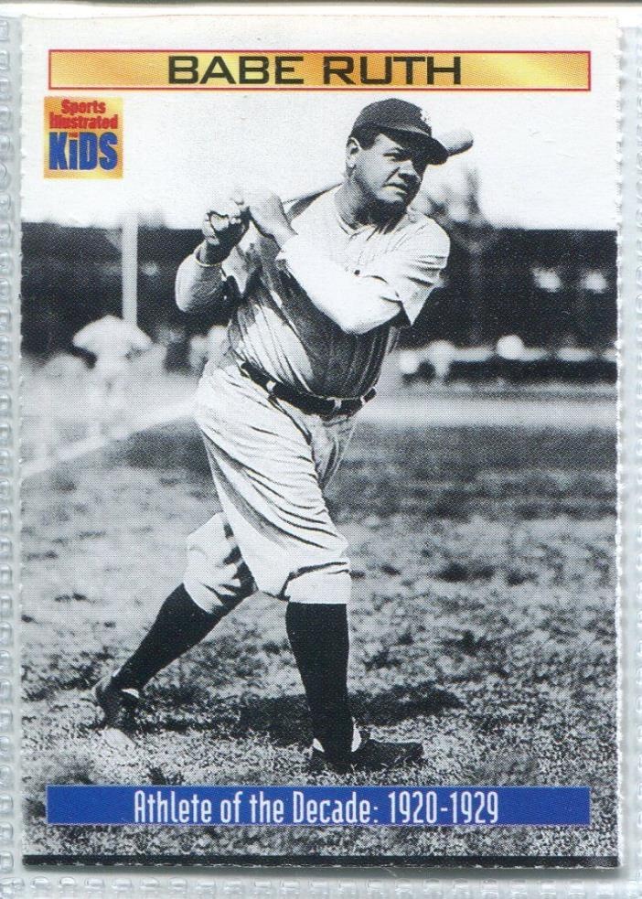 2000 Sports Illustrated for Kids II #866 Babe Ruth BB Baseball