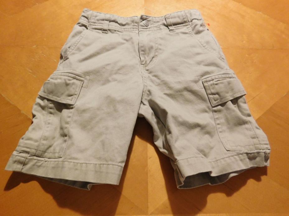 Izod Boy's Shorts Cargo Beige Size 5