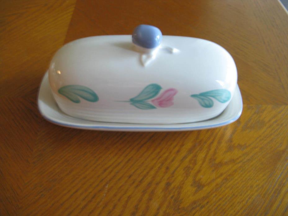 International Tablewares Japan Covered Butter Dish PORTO Pattern