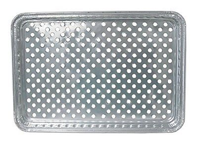 Durable Foil BBQ Gourmet Grill Topper Pan Pack Disposables Tabletop