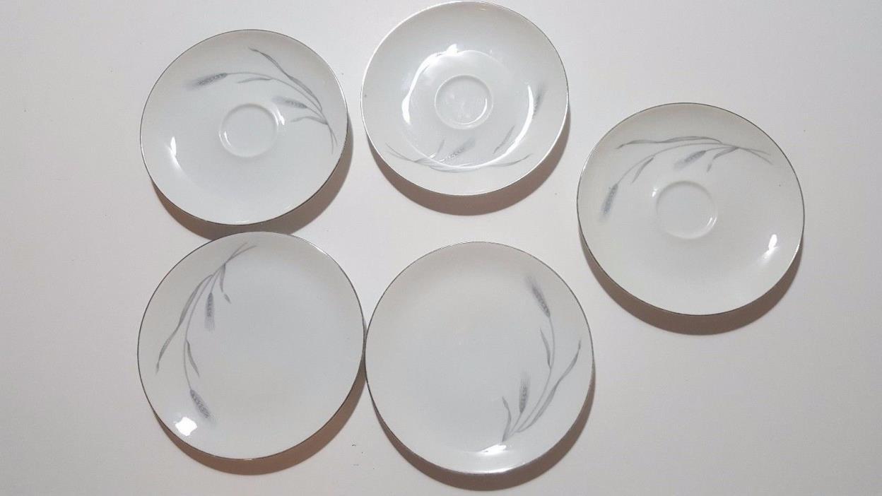 Vintage Set Of 5-Johann Haviland Bavaria Plates