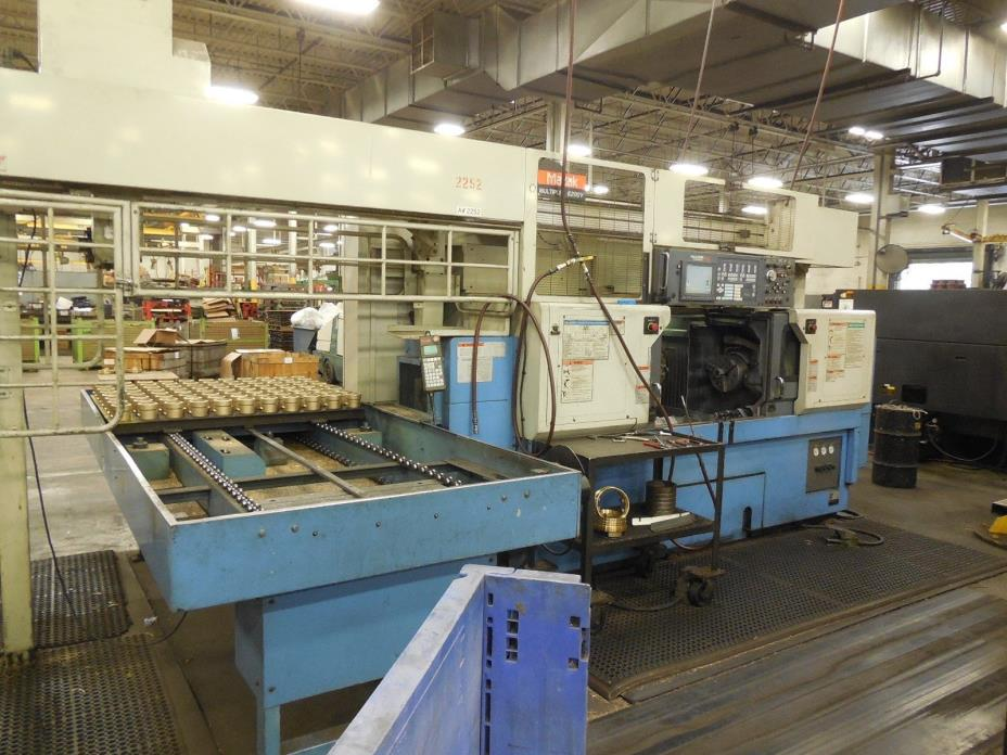 Mazak Multiplex 6200Y CNC Machine