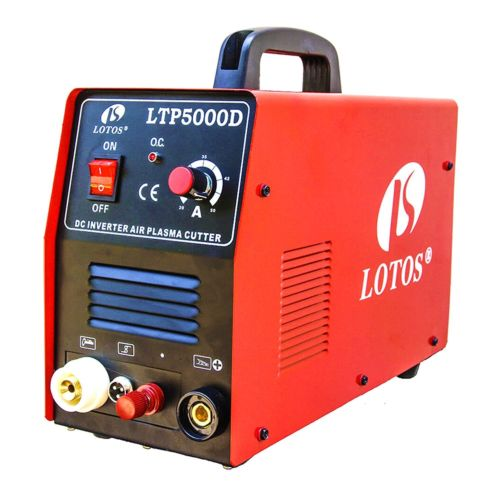 Plasma Cutter Lotos LTP5000D Dual Voltage 50 Amp 110V/220V Compact NEW