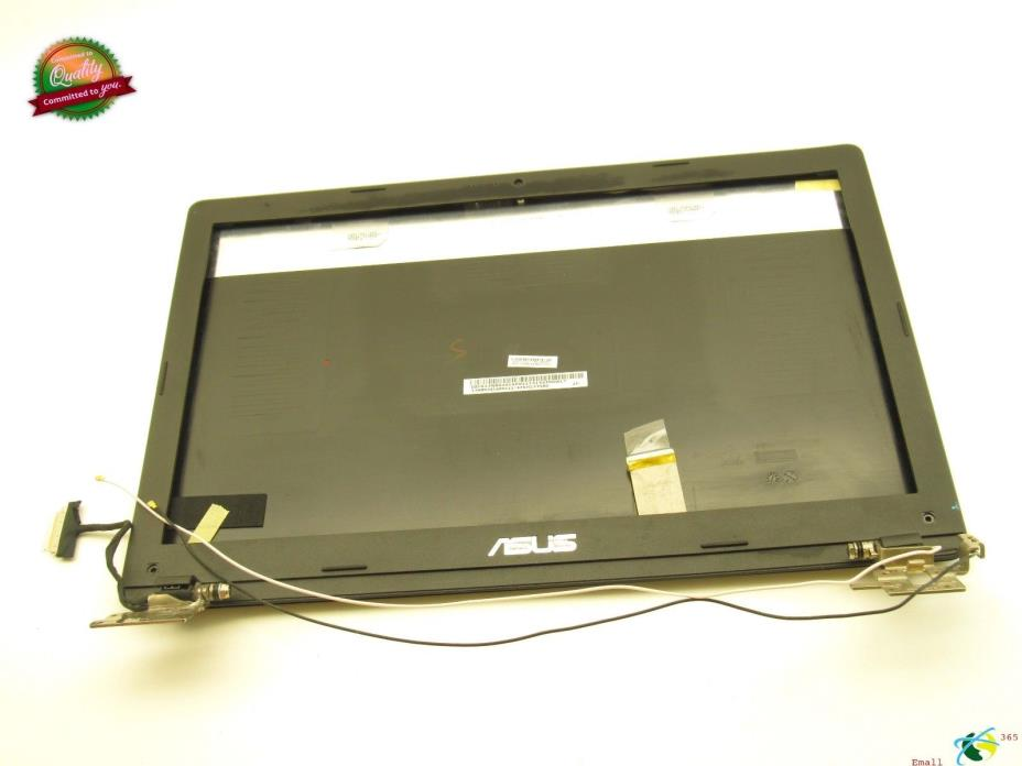 Asus X551C LCD Back Cover +Hinges+Bezel+Video Cable ~13NB0341AP0111~ Grade C
