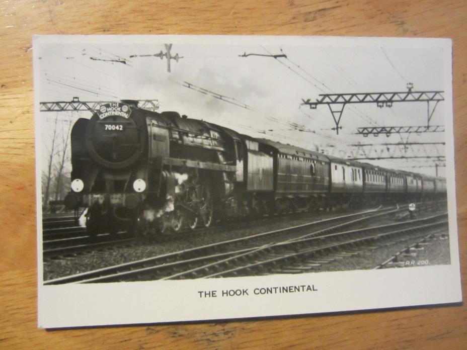 The Hook Continental  vintage postcard, note on back:55 of these built 1951/54