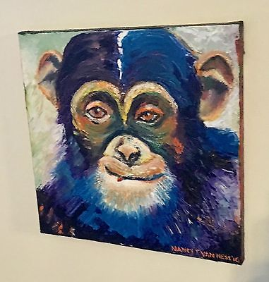 Chimp Monkey 8