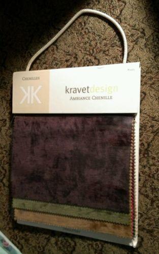 Chenilles  Kravet Design  upholstery swatch sample book #5433 Ambiance Chenille