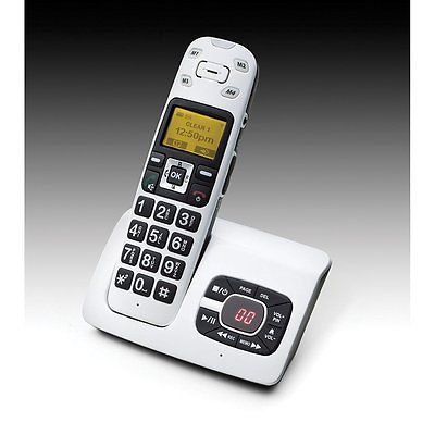 New ClearSounds A500 DECT 6.0 Expandable Deluxe Amplified Cordless Phone System
