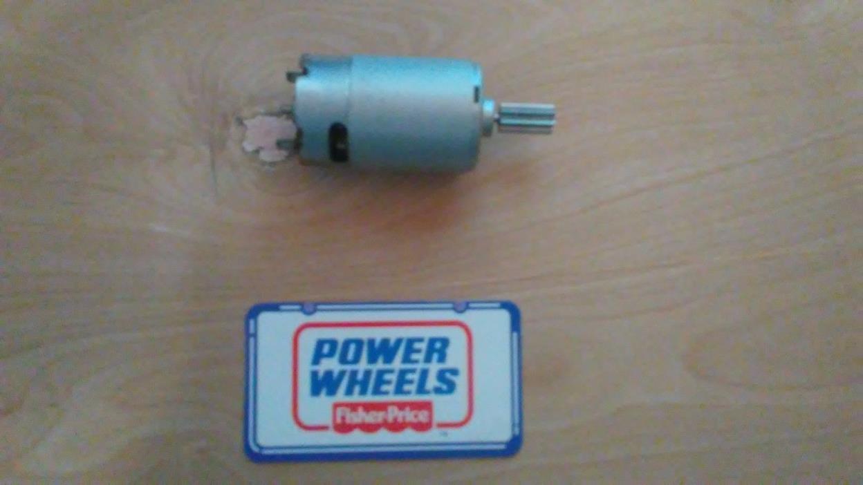Power wheels motor 8 tooth