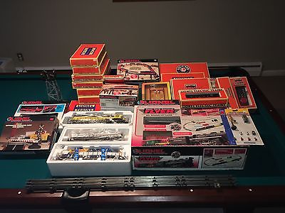 Lionel Trains, Many Items, O Scale MIOB and Used