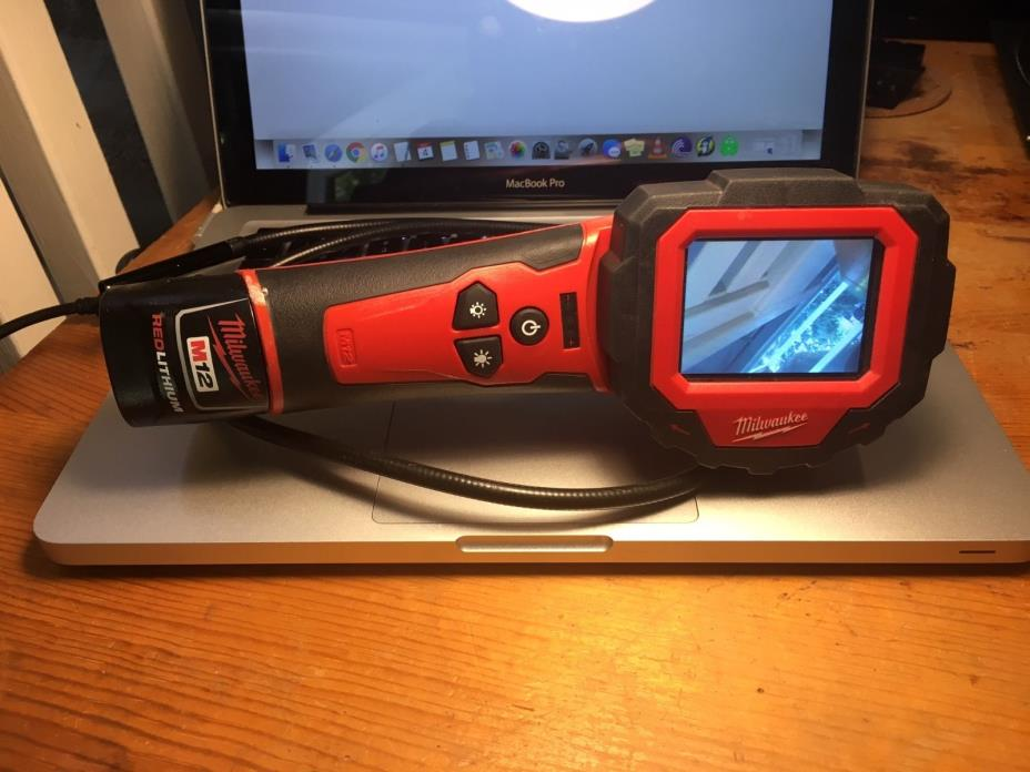 Used Milwaukee 2313-20 M-Spector 360 Cordless Camera Video Inspection M12