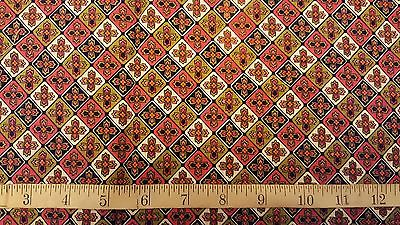 Vintage Cotton fabric 34