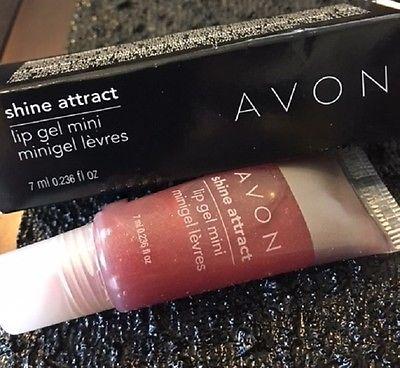 Avon Shine Attract Lip Gel Lip Gloss Fever Fuchia Makeup New w Box Free Shipping