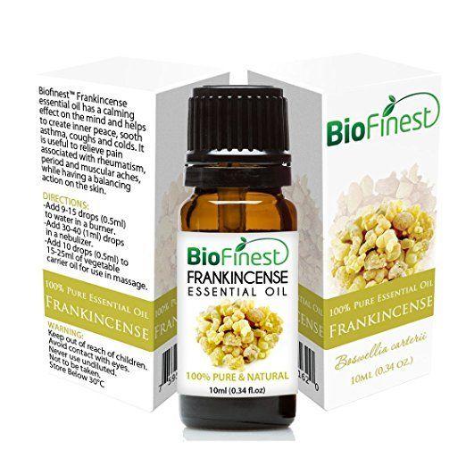BioFinest Frankincense Essential Oil - 100% Pure Undiluted - Therapeutic Grade!!