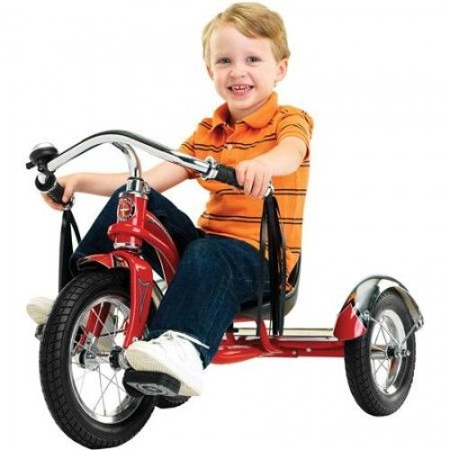Trikes For Kids Tricycle Toddler Classic Outdoor 3 Wheel Bike Ride Retro Style