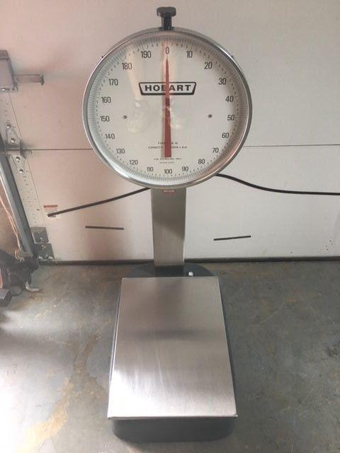 Hobart Scale 200lbs x 4 oz. HOB15-2