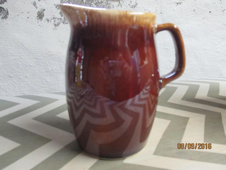 Brown Hull Creamer