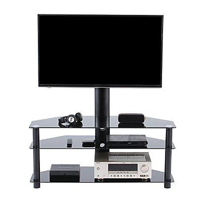 Swivel Floor TV Stand with Mount for 37 to 65 inchTVs TW1002