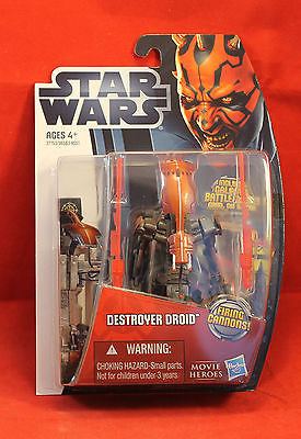 Star Wars Movie Heroes Collection #MH12 Destroyer Droid  Hasbro