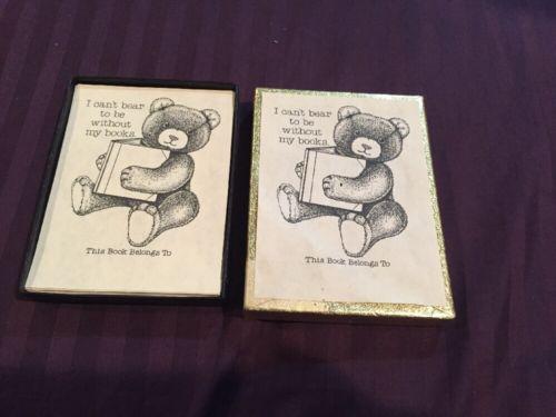 Teddy Bear Book Plates
