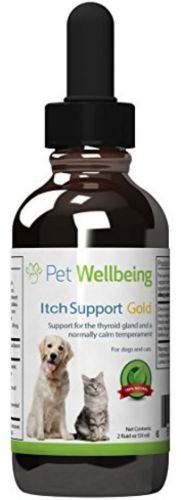 Pet Wellbeing Itch Support Dogs Natural Skin Allergy Chinese Medicine Health