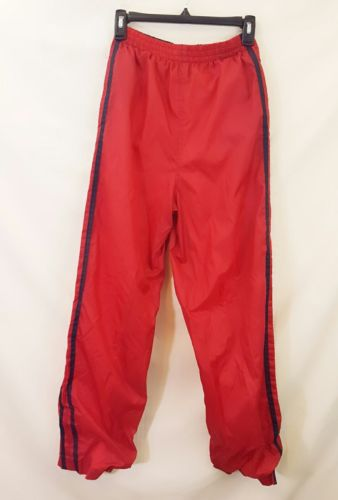Athletic Works Red Windbreaker Track Jogging Pants Boy's XL 18