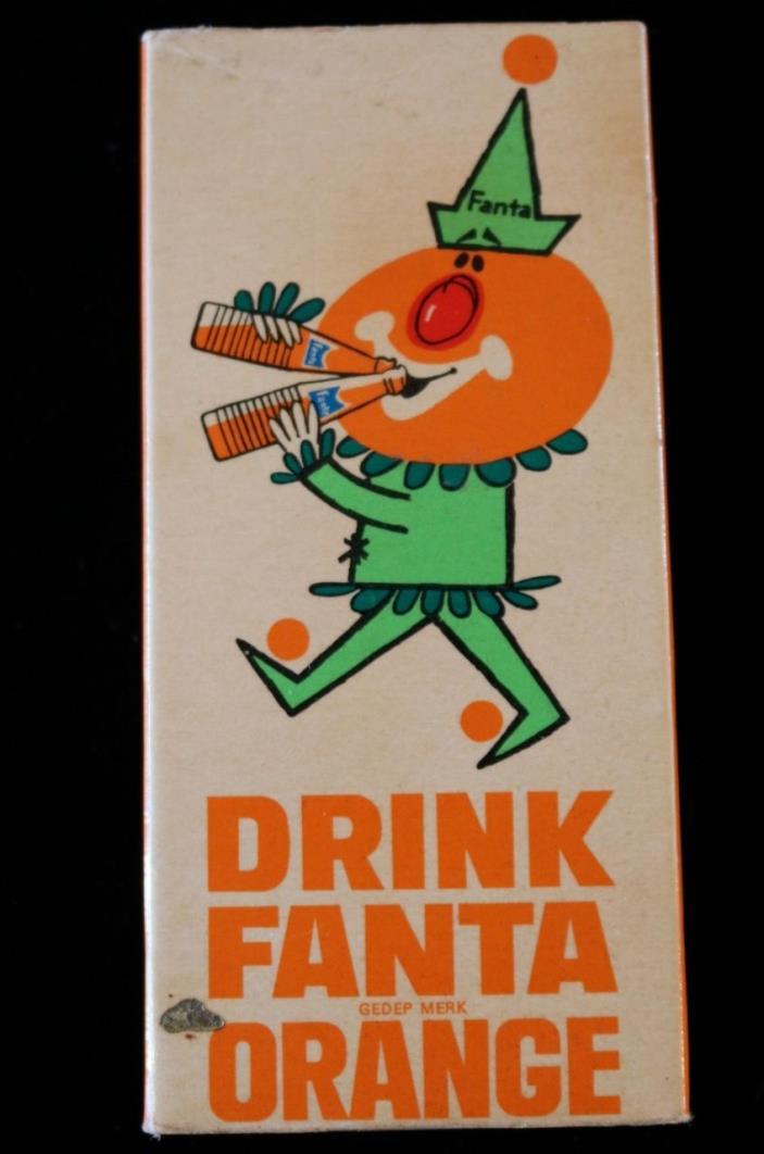 Drink Fanta Orange Clown 1960's Pen Nib Box Blanzy Conte Gilbert
