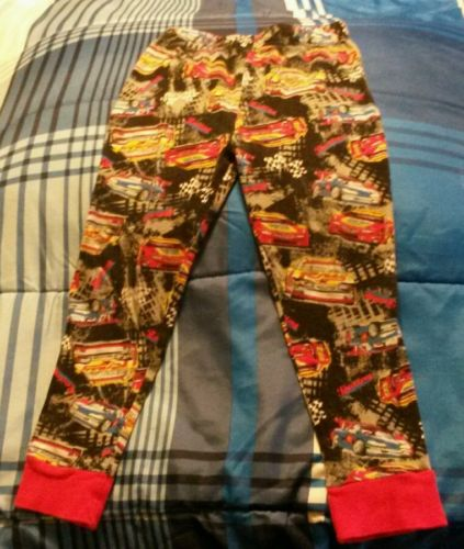 boys race car winter pajamas size 6