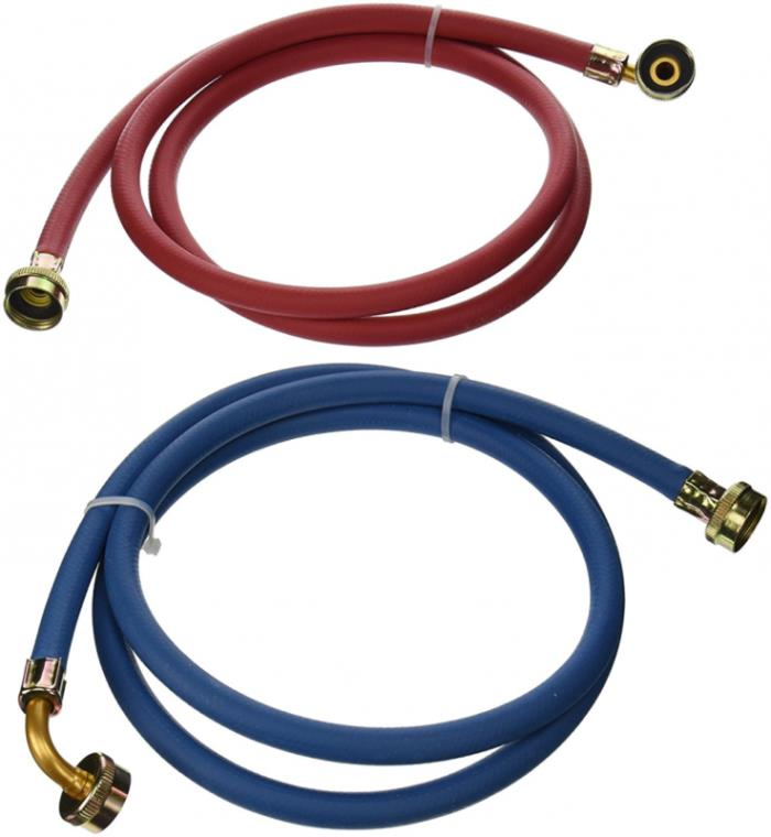 EZ-FLO 60318 Eastman Washing Machine Rubber Fill Hose with 90-Degree Elbow, 3/4-