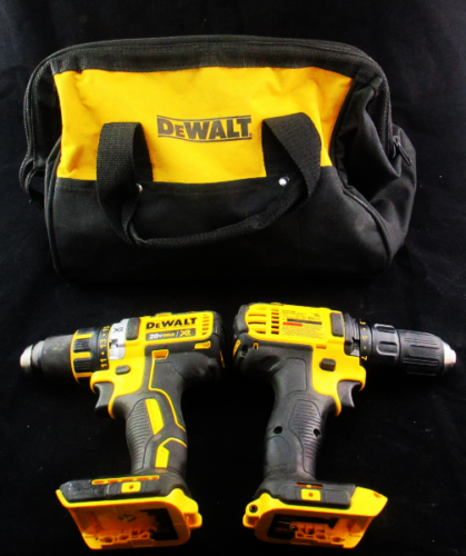 Dewalt DCK290L2 Lithium-Ion Hammer Drill and Impact Combo Kit, tools only