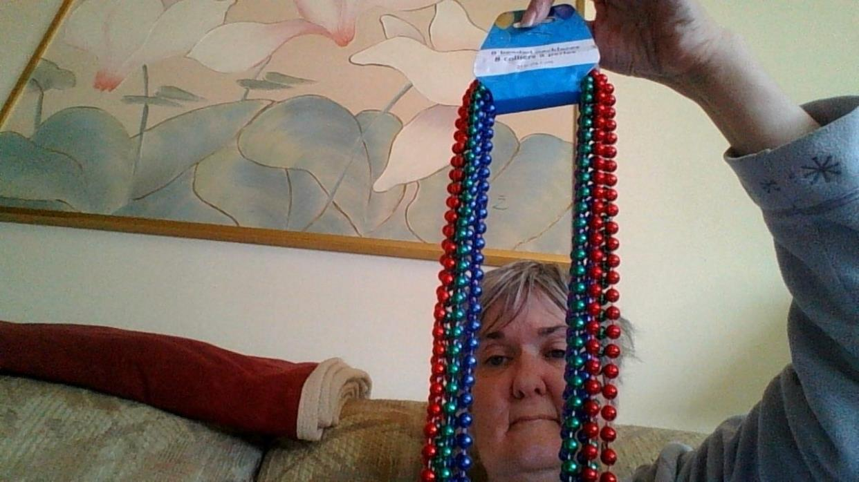 beaded necklaces 8 pack /raising money for my future adoption