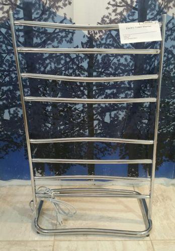 Jerdon Warmrails HYDE PARK  Free Standing electric Towel Warmer chrome