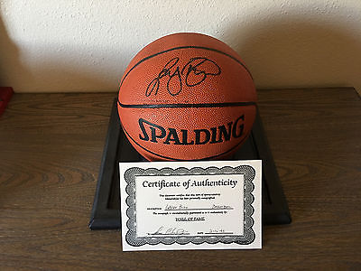 Larry Bird Signed Autographed Basketball w/COA Celtics Pacers