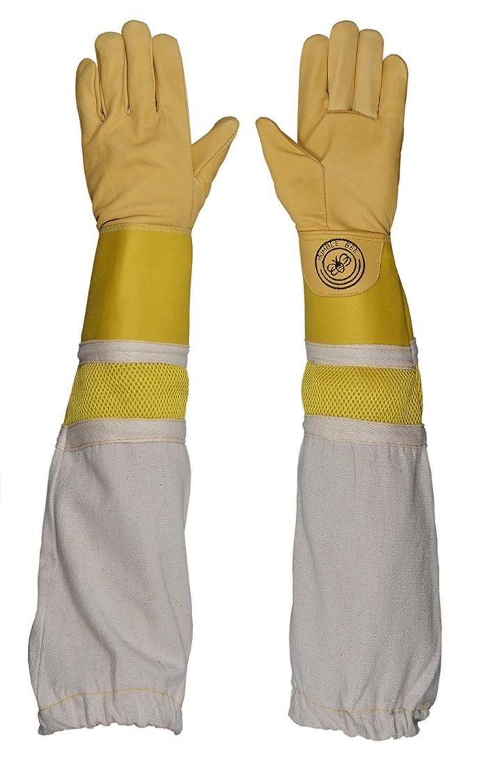 Humble Bee 115-S Beekeeping Gloves With Reinforced And Ventilated Cuffs Small