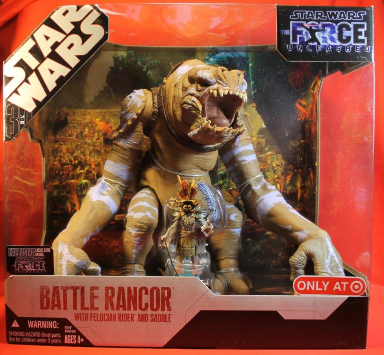 Star Wars TAC 30th Anniversary Collection Battle Rancor Force Unleashed 2007 Has