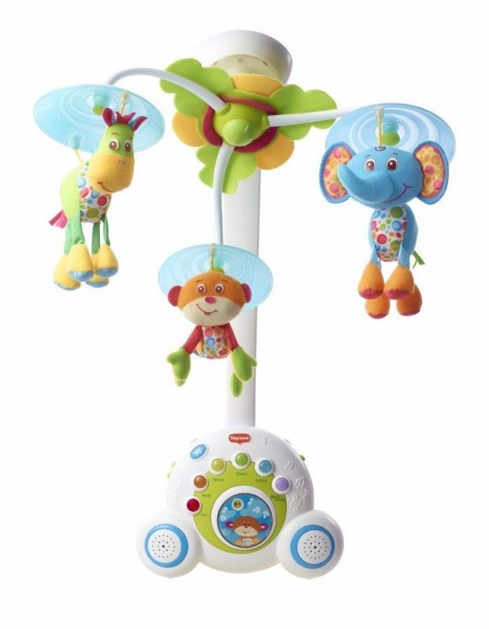 Tiny Love Soothe 'n Groove Baby Mobile, Blue Plays 18 Different Tunes 00467-003
