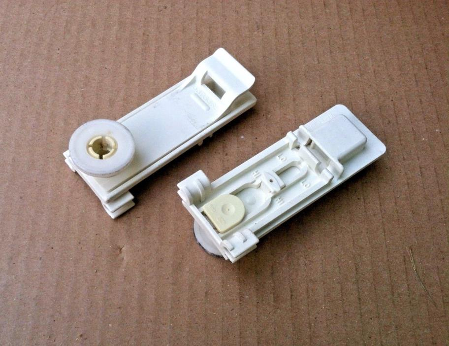 TWO (2) PACK WHIRLPOOL DISHWASHER UPPER RACK WHEEL/ADJUSTER 3373365 WPW10204131