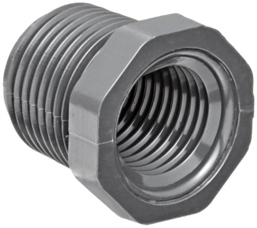 Spears 839 Series PVC Pipe Fitting, Bushing, Schedule 80, 1