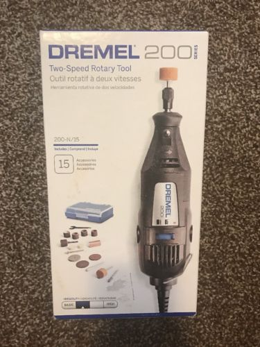 BRAND NEW DREMEL 200 SERIES TWO SPEED ROTARY TOOL 200-N/15