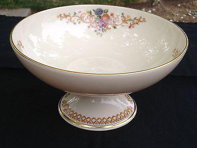 Lenox Queen's Garden Compote Bowl 24KT Accents