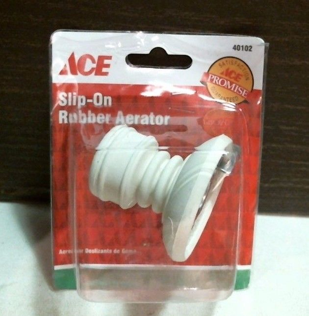 Ace 40102 Slip On Rubber Aerator Faucet Spray Adjustable FREE SHIPPING